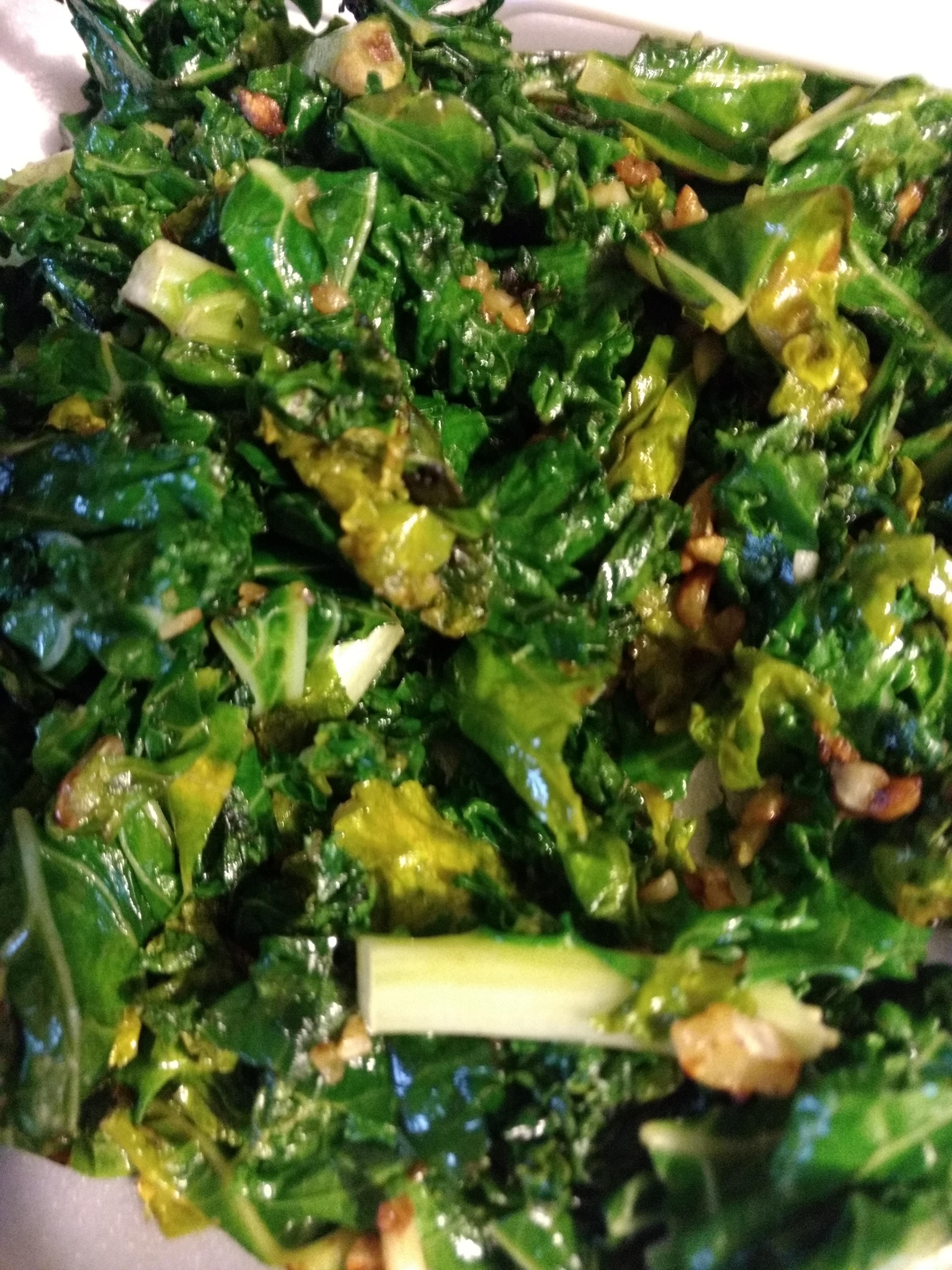 Easy Garlic Kale