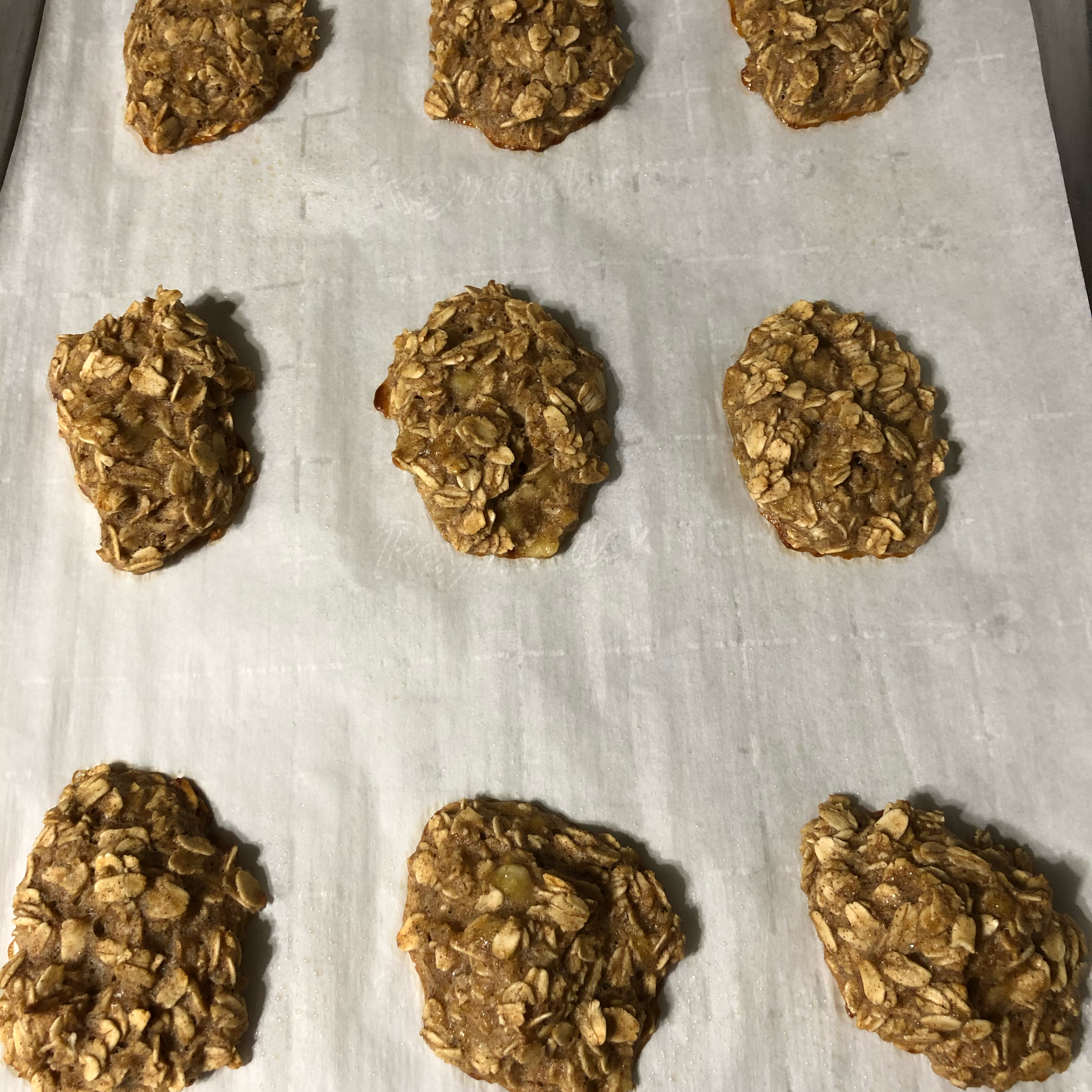 Clean Banana Oat Cookies Maggs