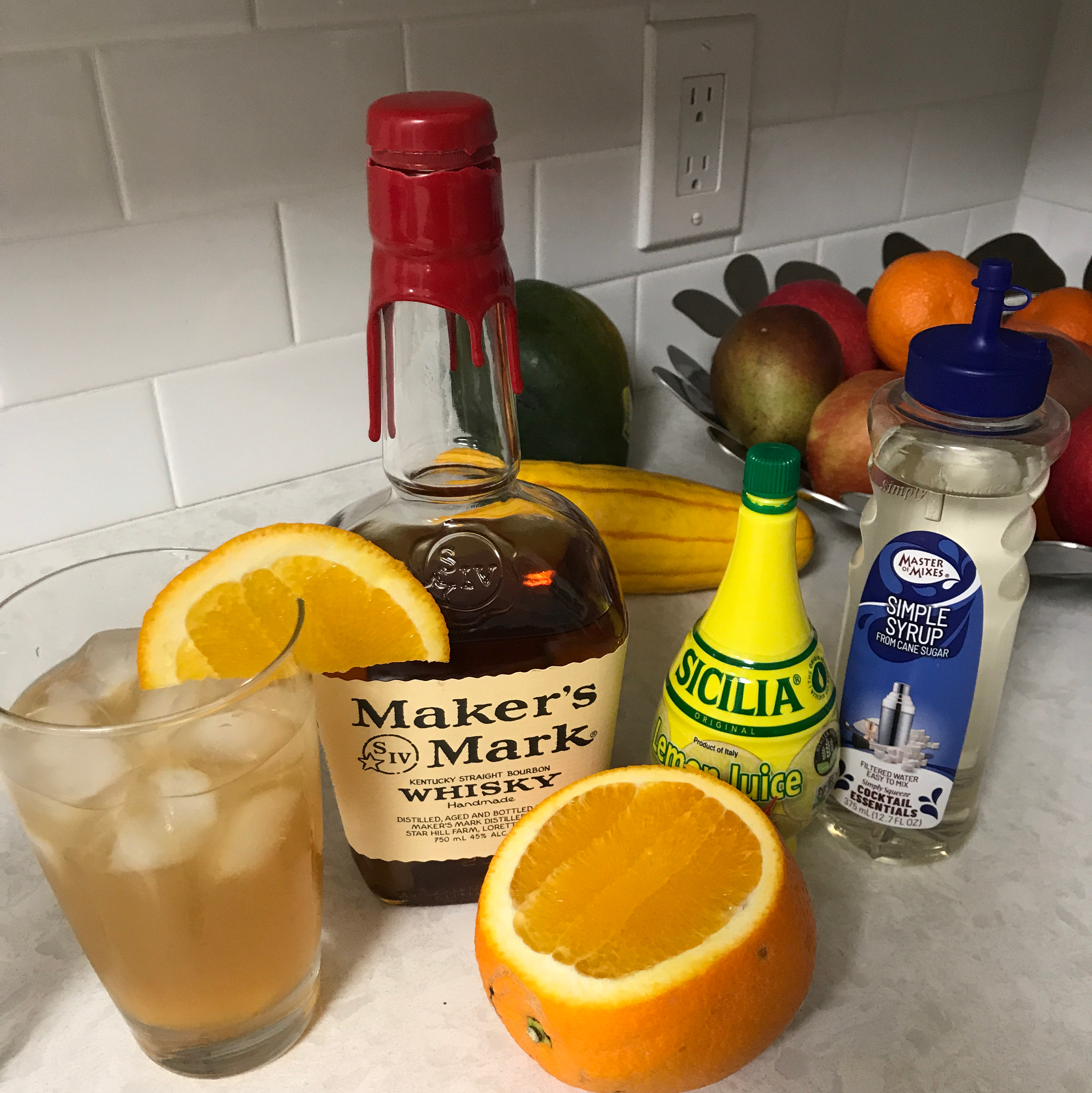 Classic Whiskey Sour Joseph R. Morales