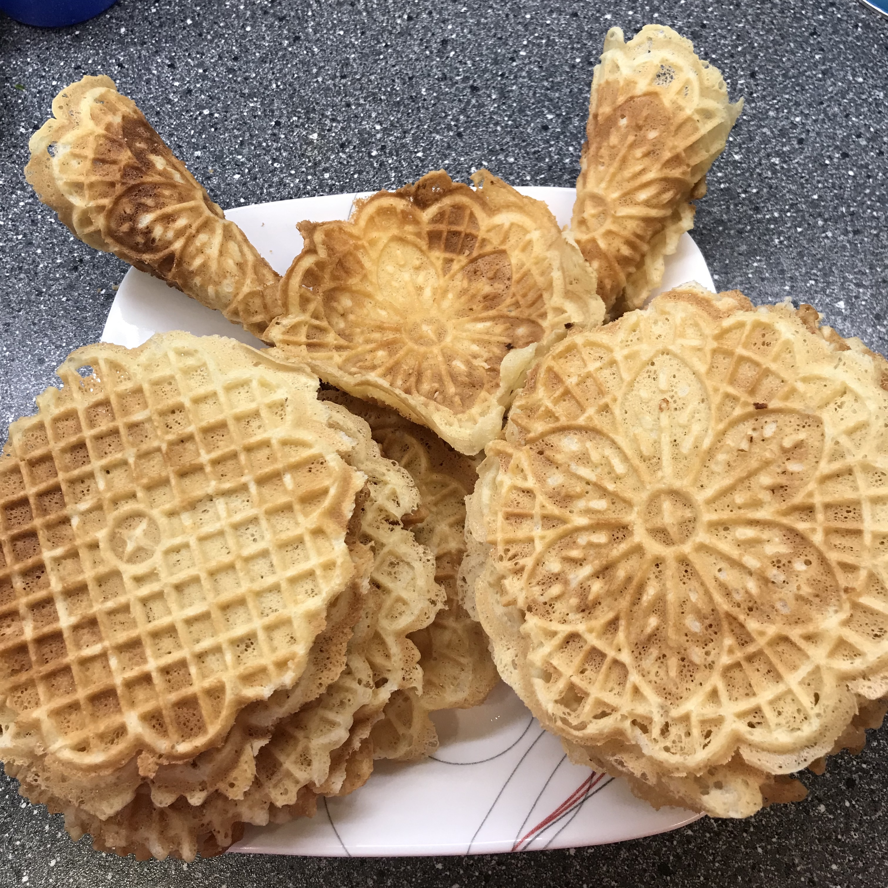 Hungarian Pizzelle
