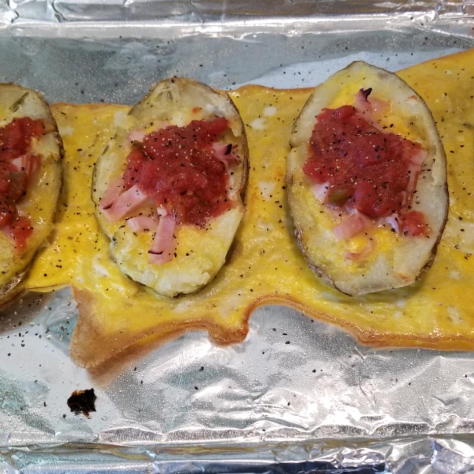Idaho Sunrise (Breakfast Baked Potato) Gayle Fossoy