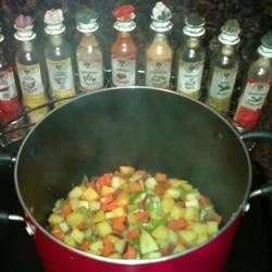 Turkey Soup with Root Vegetables Sarah Potter