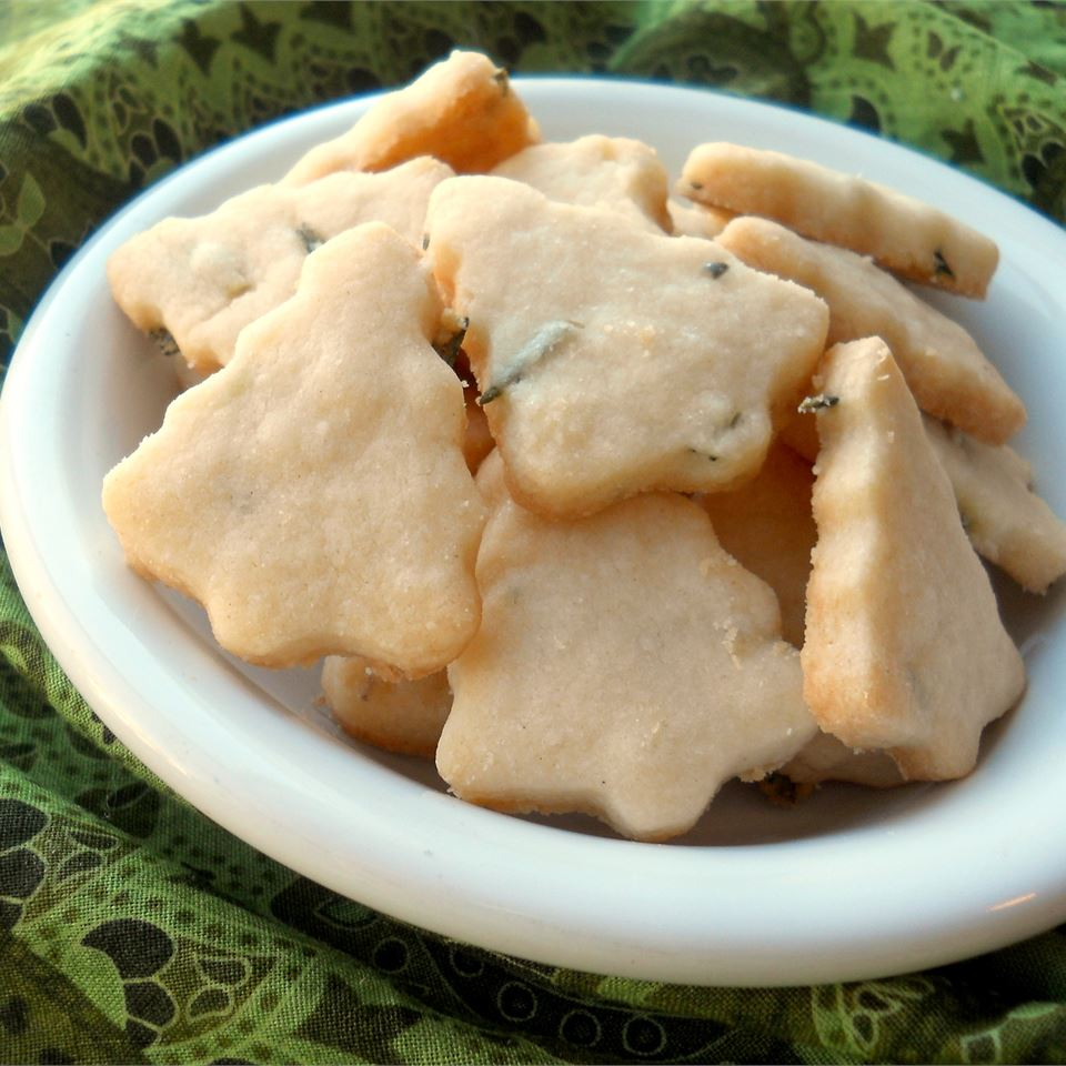 Rosemary Shortbread Cookies Abigail
