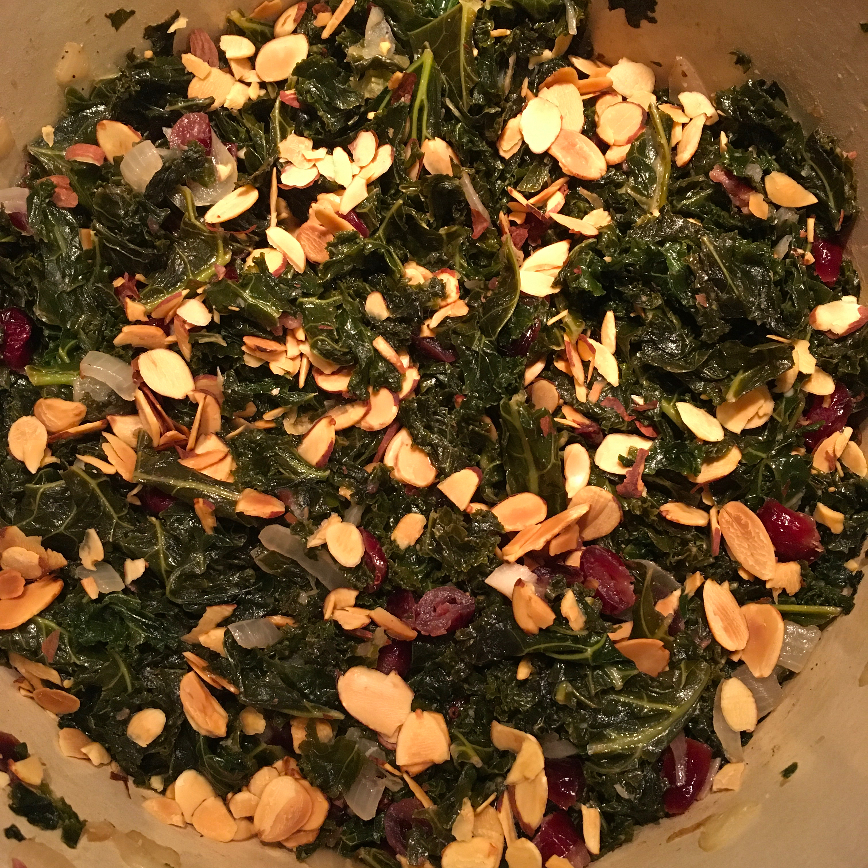 Sweet and Savory Kale Kate Douglas Ouellette