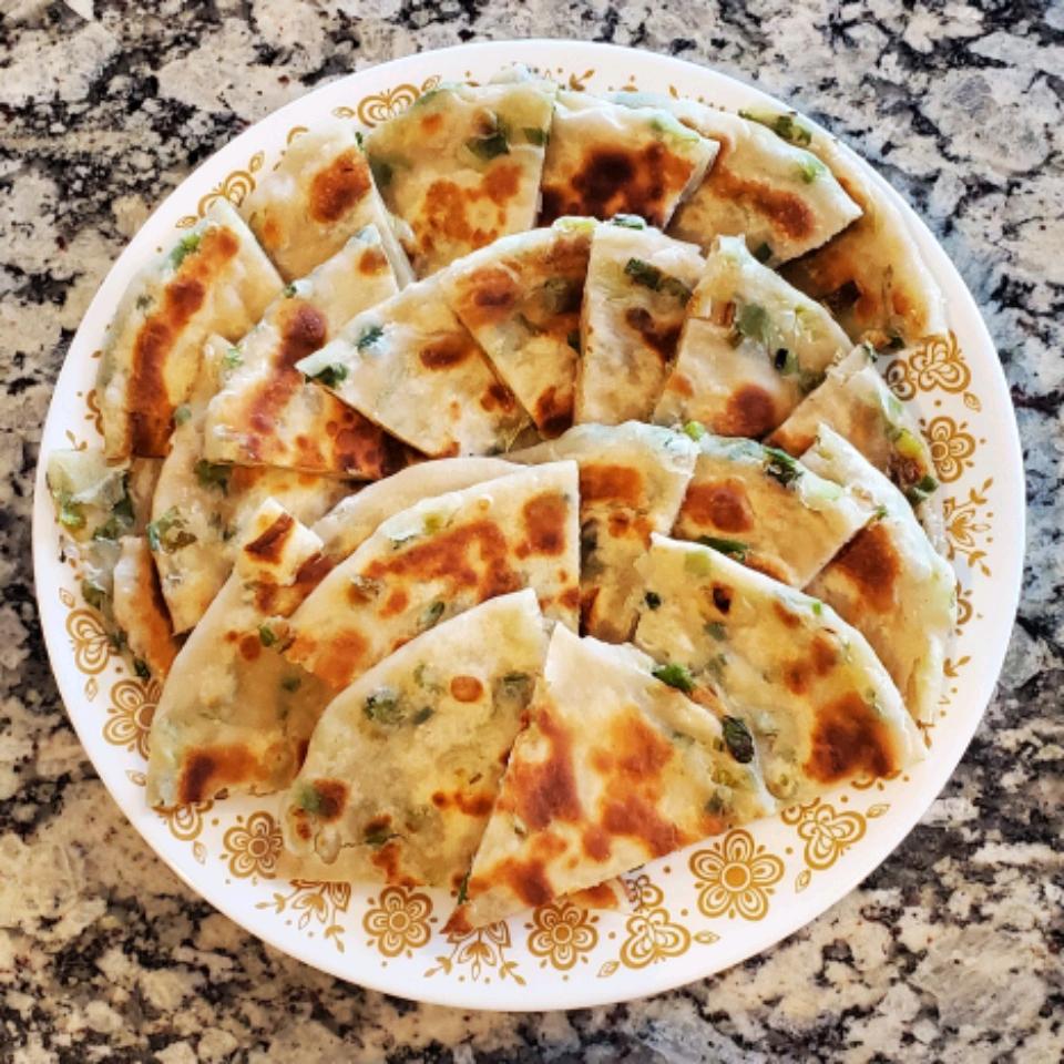Chef John's Chinese Scallion Pancakes