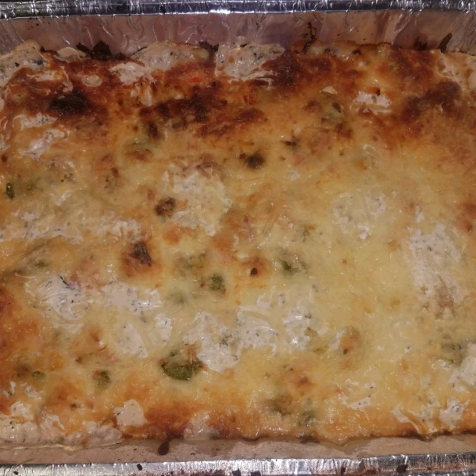Chicken Alfredo Lasagna Rawn