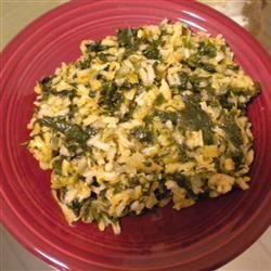 Spinach and Rice (Spanakorizo) sunniedm