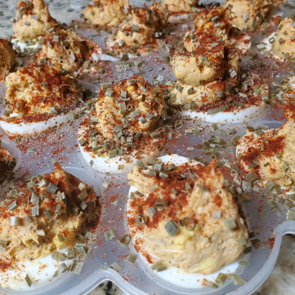 Robey's Blue Crab Deviled Eggs
