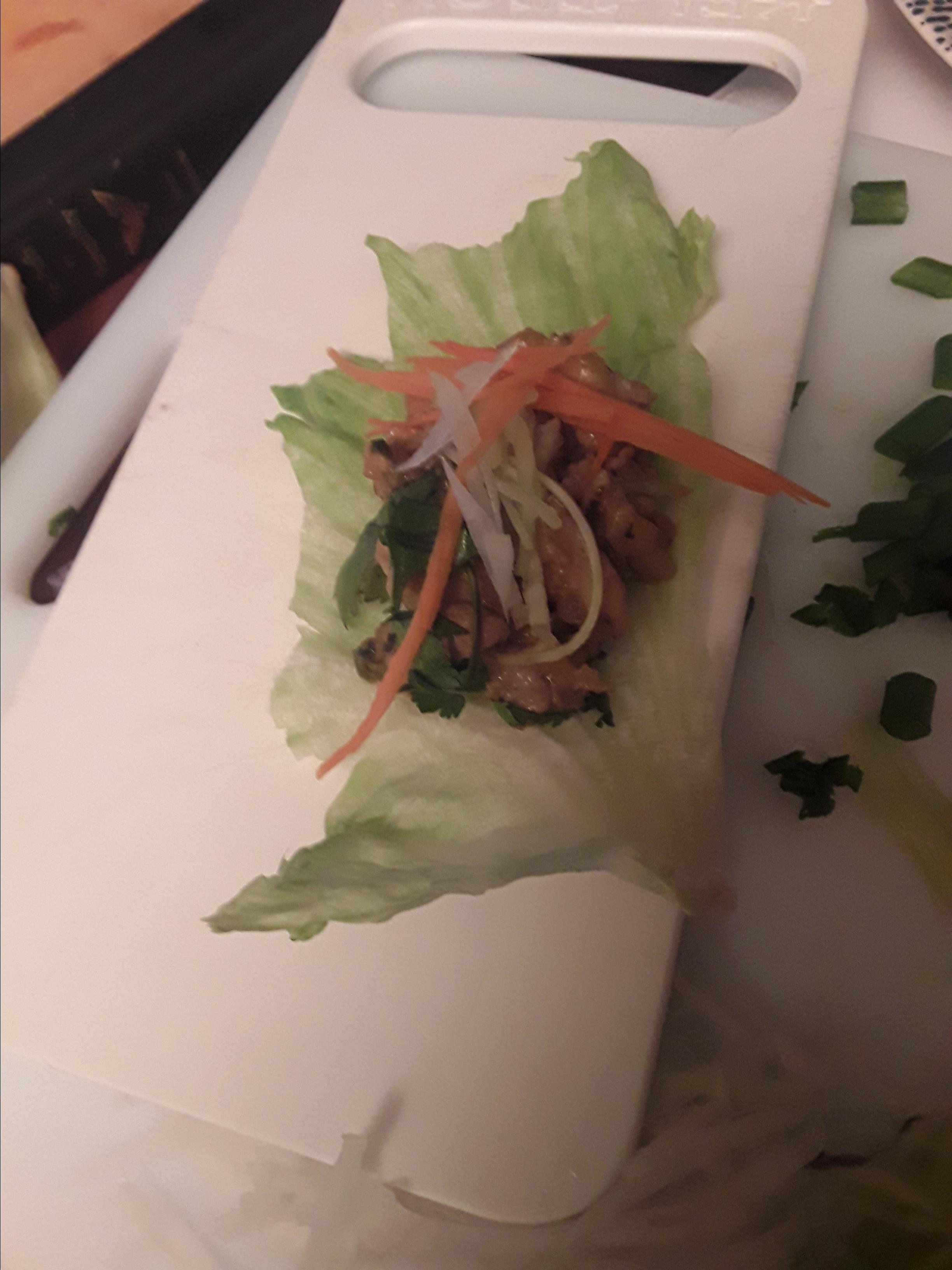 Chef John's Chicken Lettuce Wraps