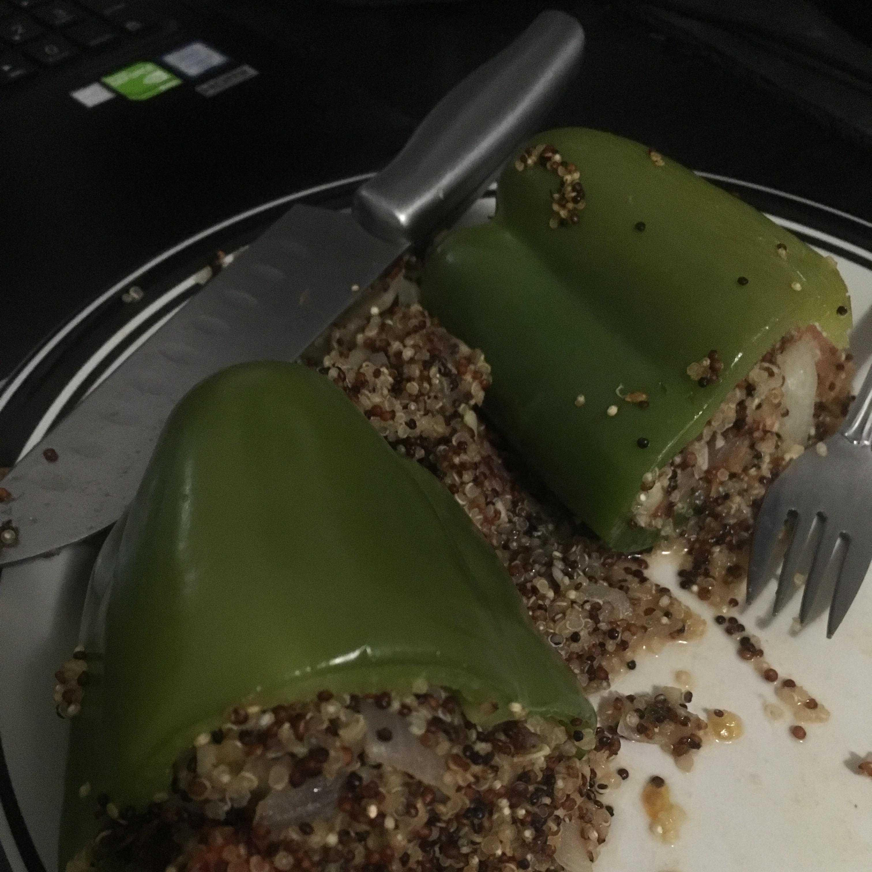 Ellen's Vegan Stuffed Peppers Nathan Miles