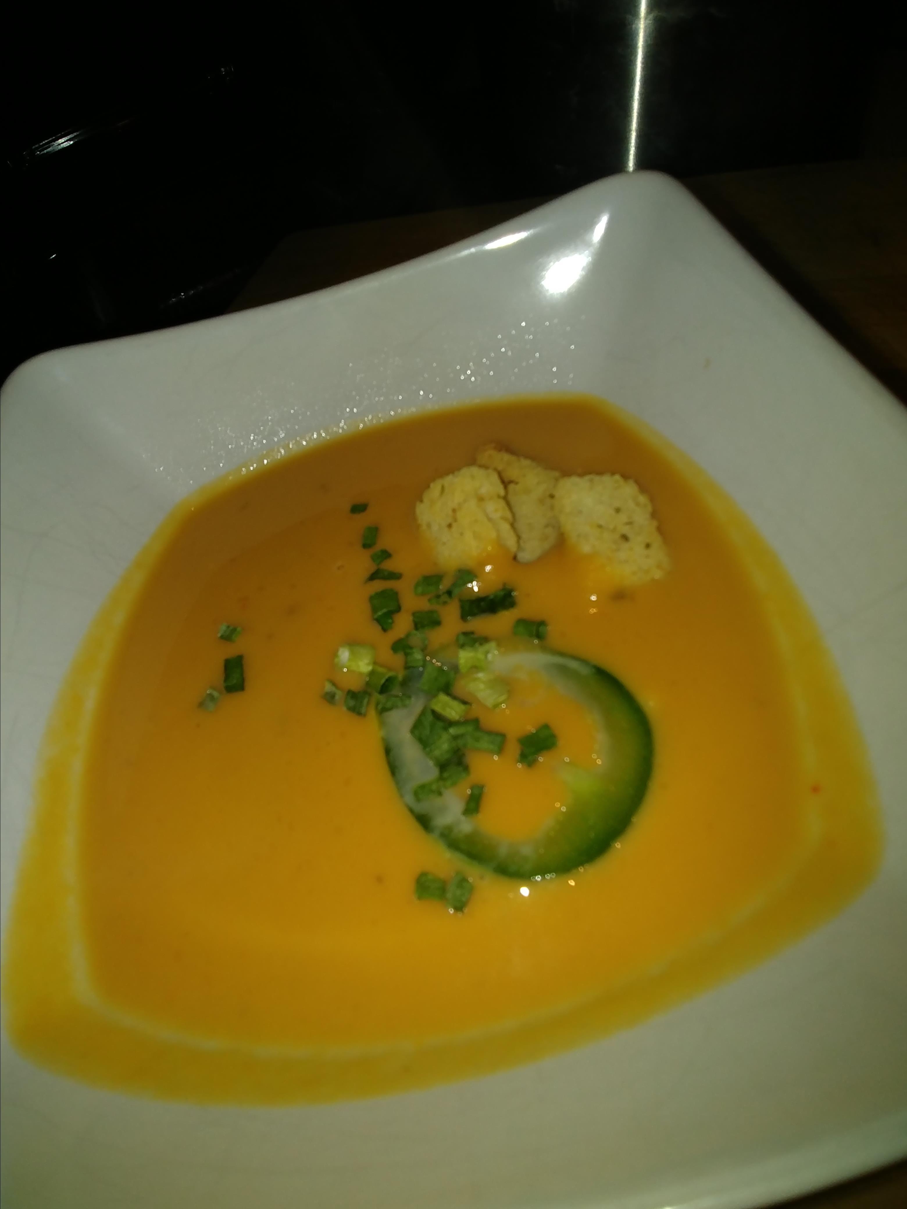 Simple Sweet Potato Soup Elizabeth Kozma