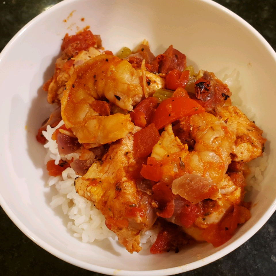 Instant Pot® Jambalaya with Shrimp and Chicken helbirdier