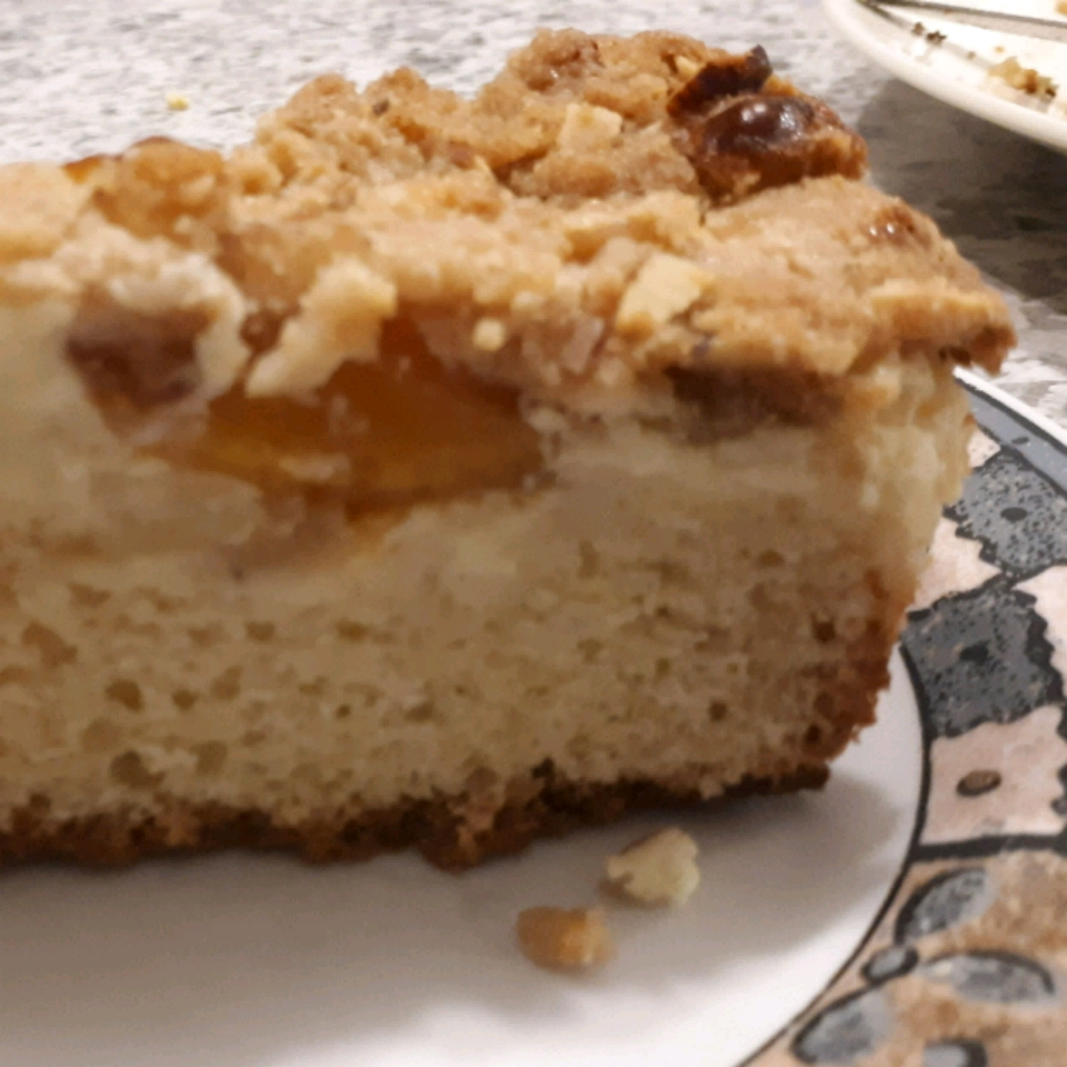 Cream Cheese-Filled Coffeecake With Fruit Preserves and Crumble Topping gilR