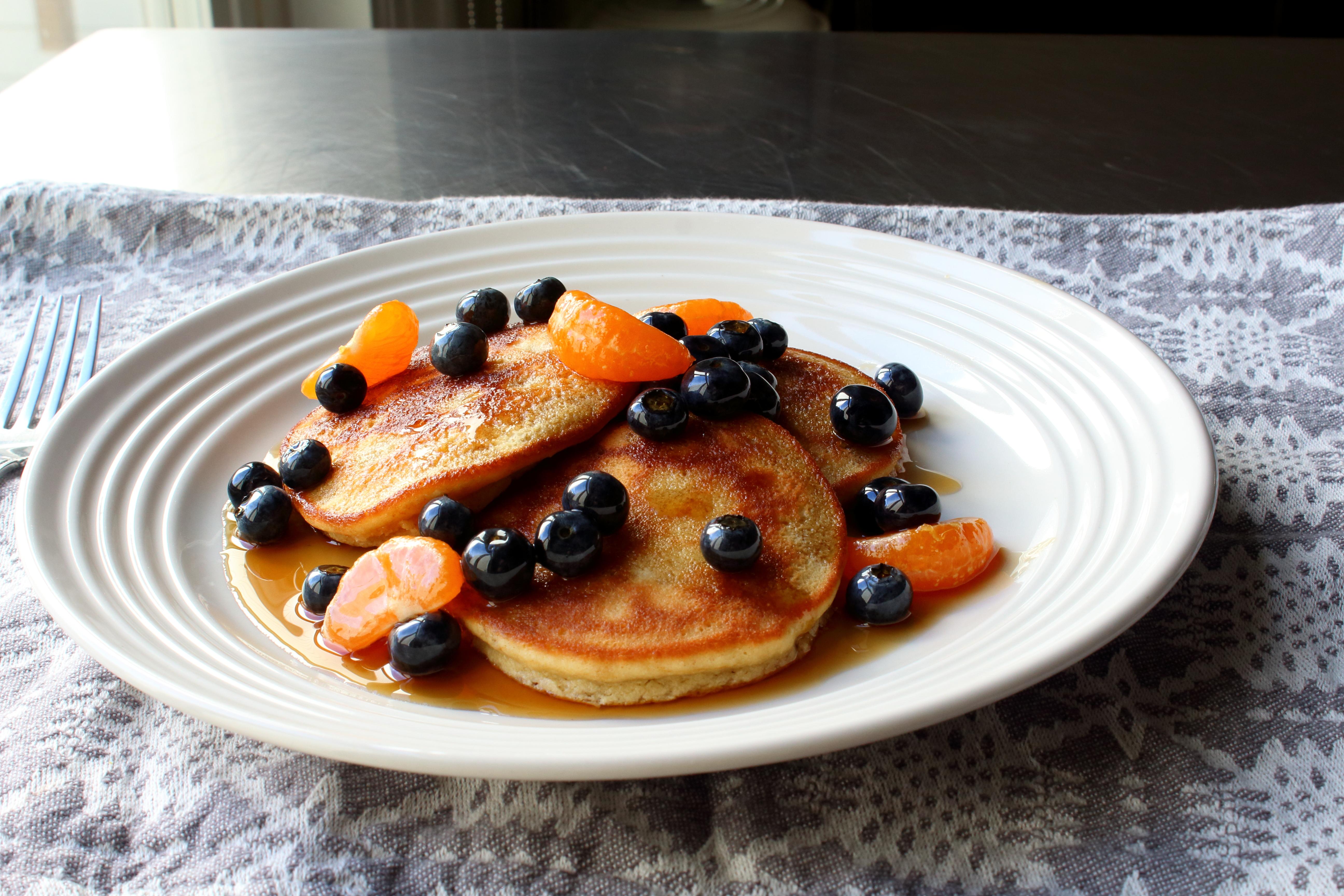 Almond Meal Pancakes Chef John