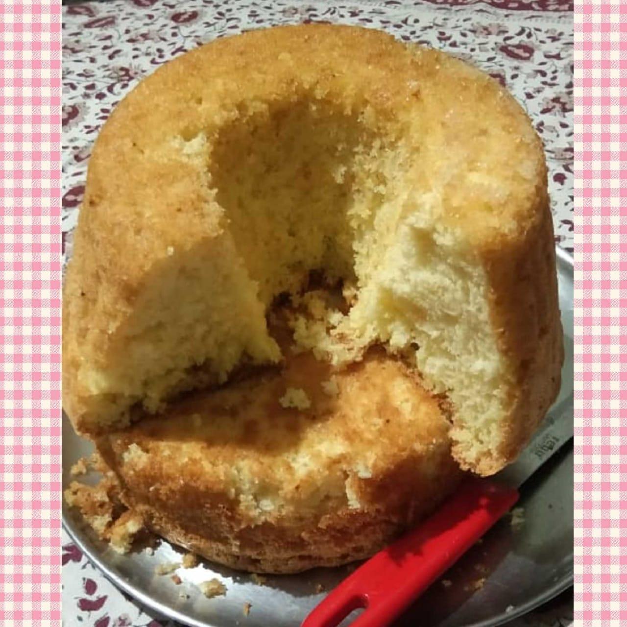 Egg-Yolk Sponge Cake Sulata Coelho