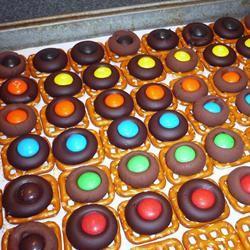 Chocolate Pretzels