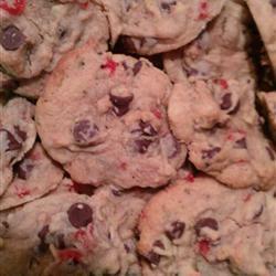 Spumoni Chocolate Chip Cookies Rebecca