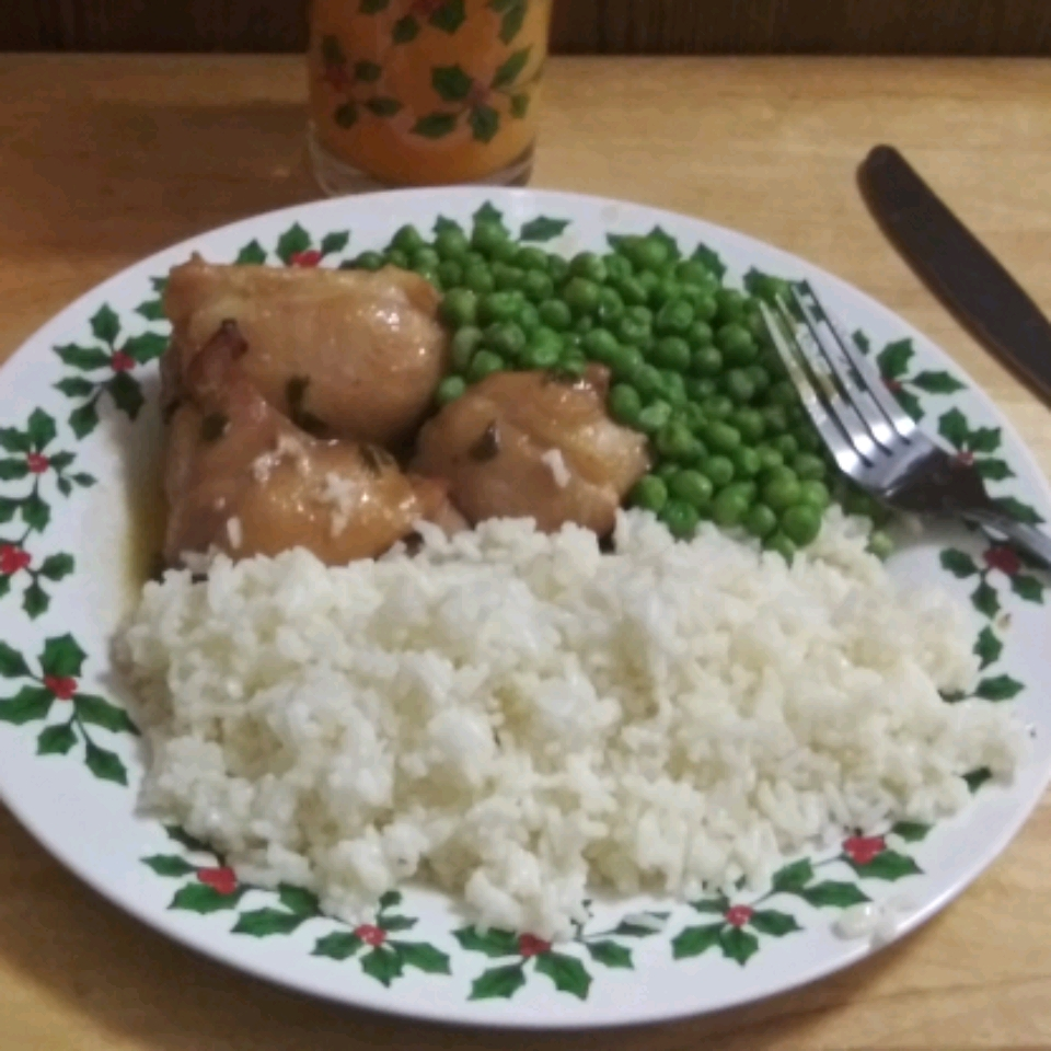 Honey Garlic Chicken with Rosemary
