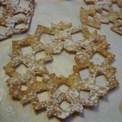 Scandinavian Snowflake Cookies