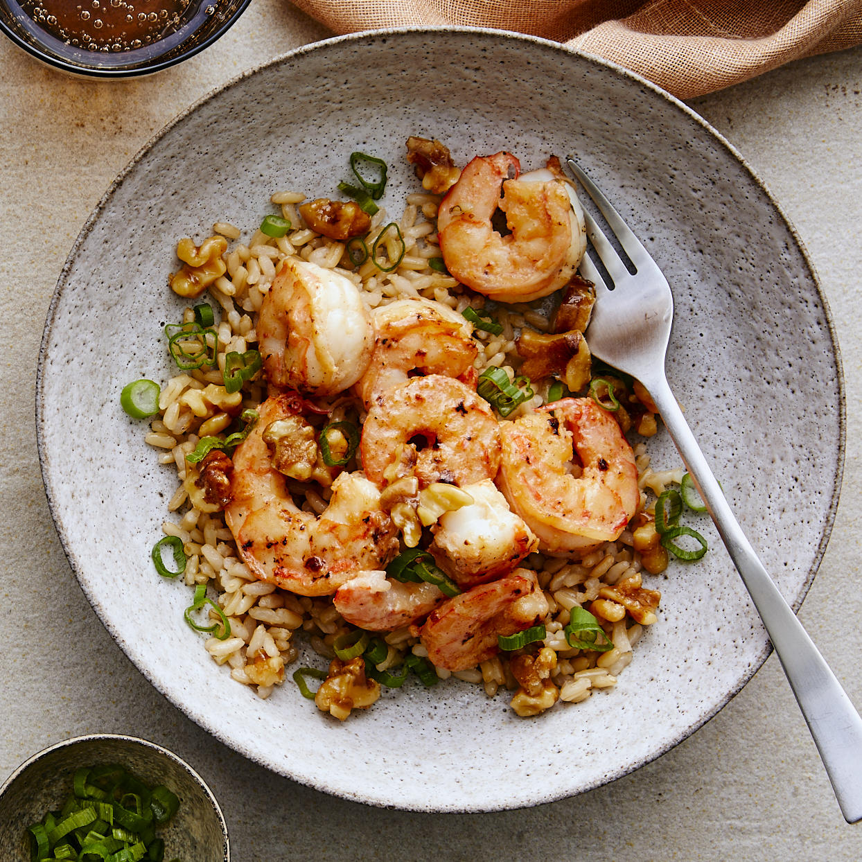 We gave a healthy spin to this popular takeout favorite. Walnuts are given a brown sugar coating that pairs nicely with sweet and savory shrimp. Serve the shrimp with rice and steamed veggies to make it a full, healthy meal. This ultra-quick dinner recipe is sure to become a new weeknight favorite. Source: EatingWell.com, January 2020