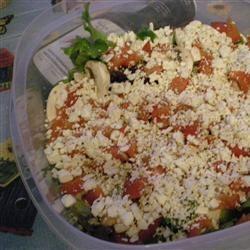 Greek Veggie Salad II