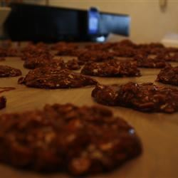 Peanut Butter Cocoa No-Bake Cookies AlisaP