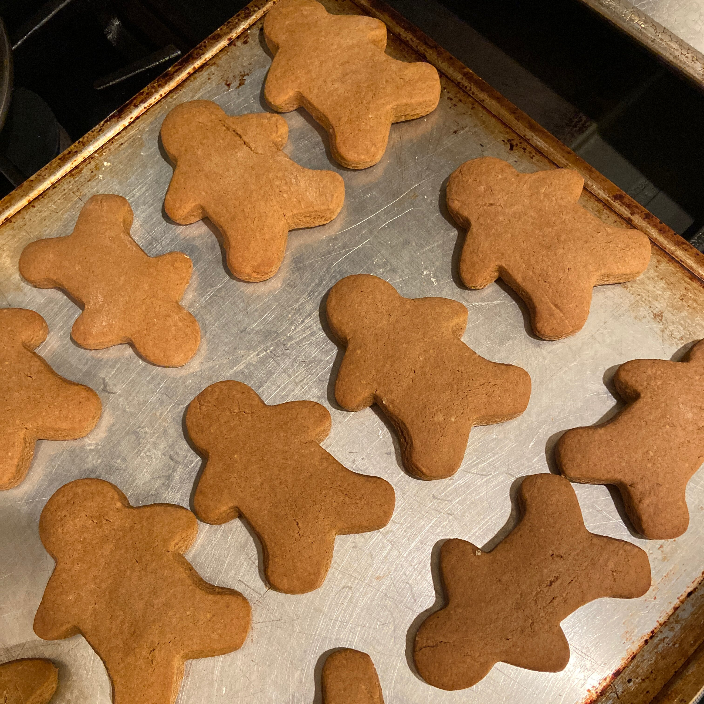 Cake Mix Gingerbread Men Recipe Allrecipes