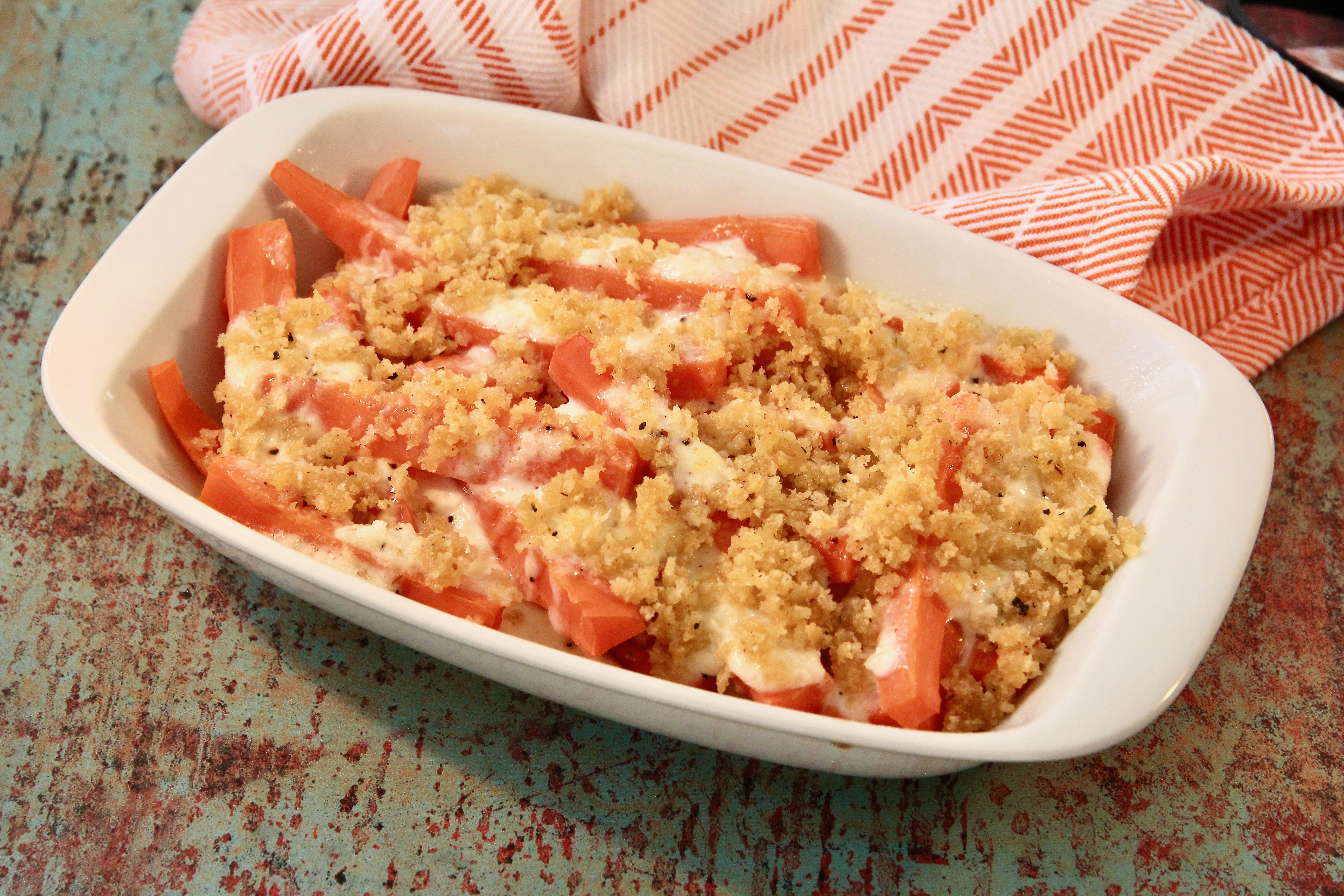 Mom's Zesty Carrots with Horseradish