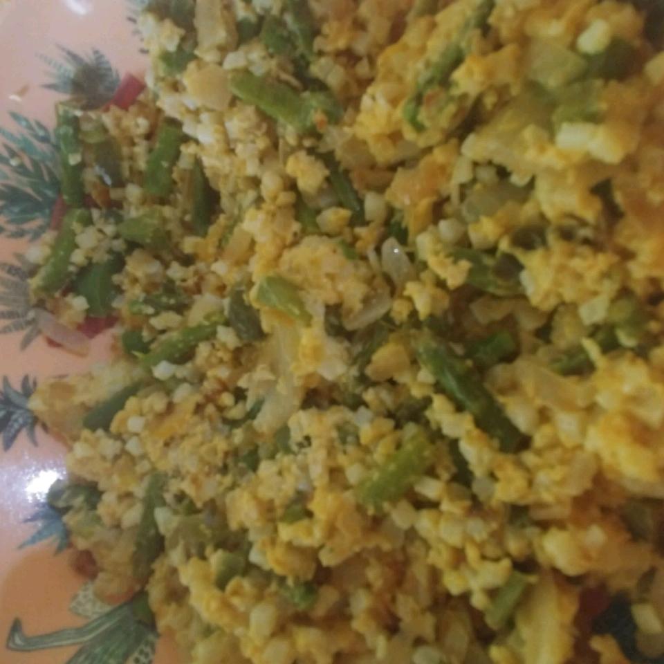 Scrambled Cauliflower - Low Carb