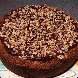 Hazelnut and Chipped Chocolate Cheesecake Allen Kozlowski