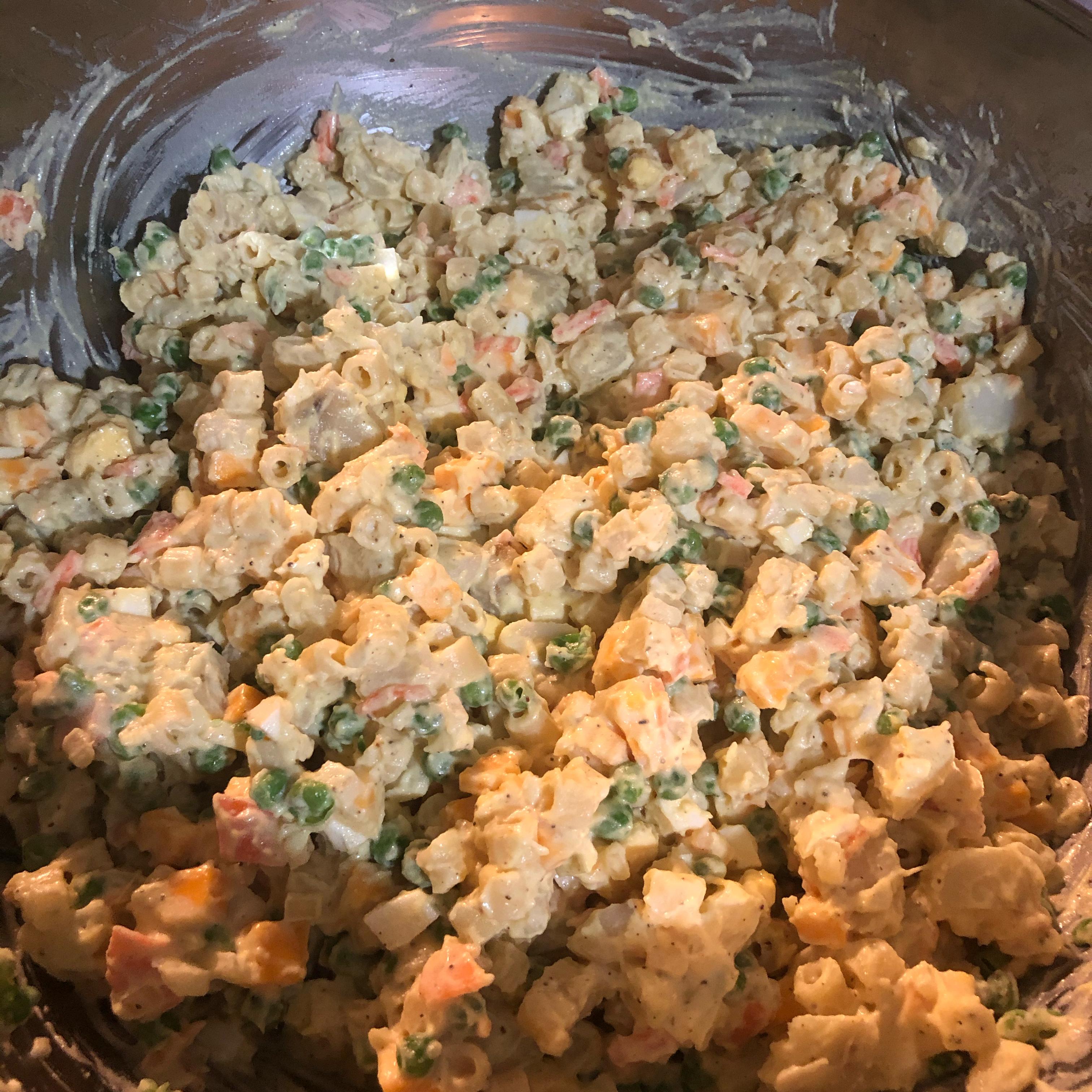 Hawaiian Bruddah Potato Mac (Macaroni) Salad angelinamarie3