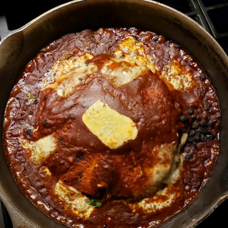 Easy Red Chicken Enchiladas Debbie Venus-Fenrich