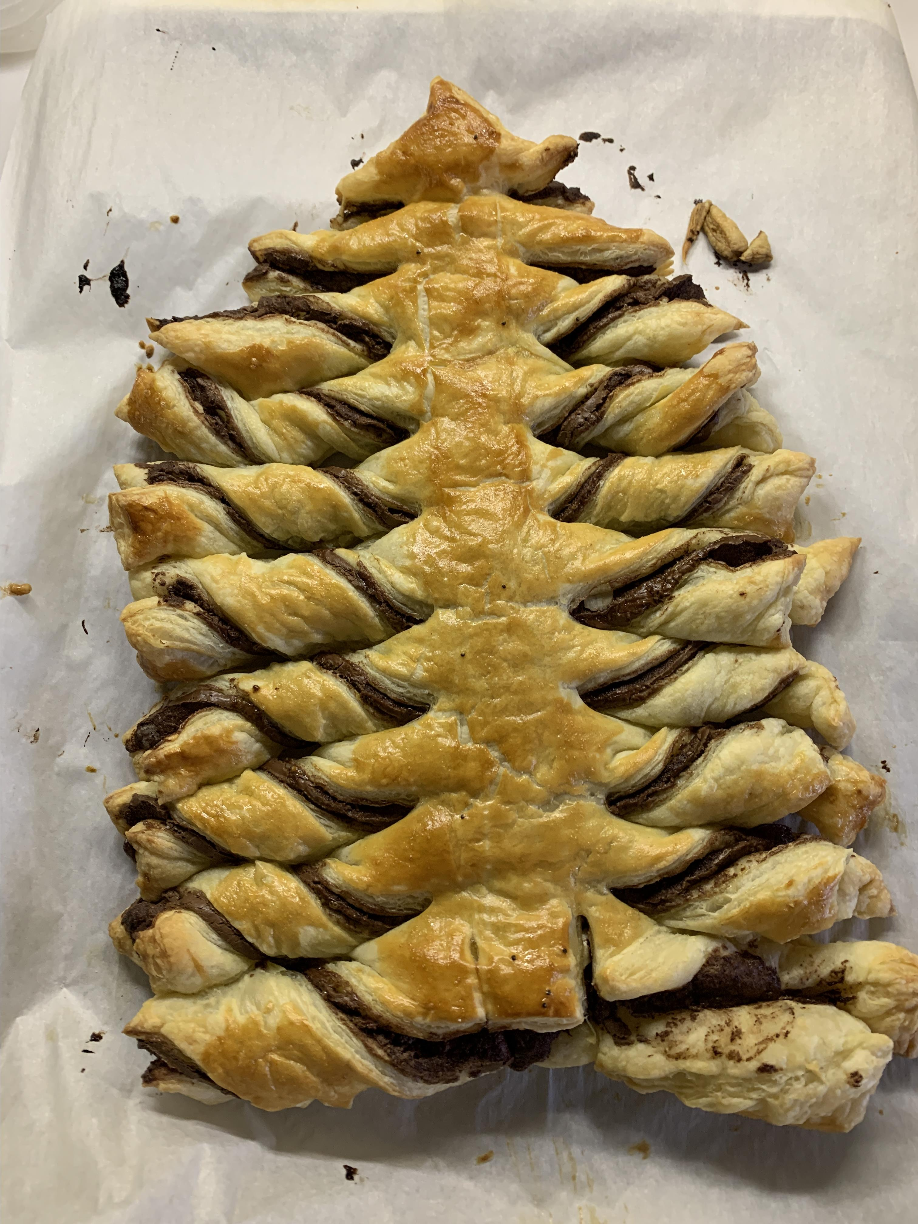 Nutella® Pastry Christmas Tree