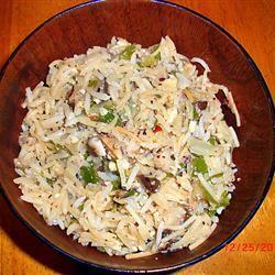 Hazelnut-Mushroom Pilaf Turkishcook