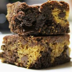 Karen's Cookie Dough Brownies