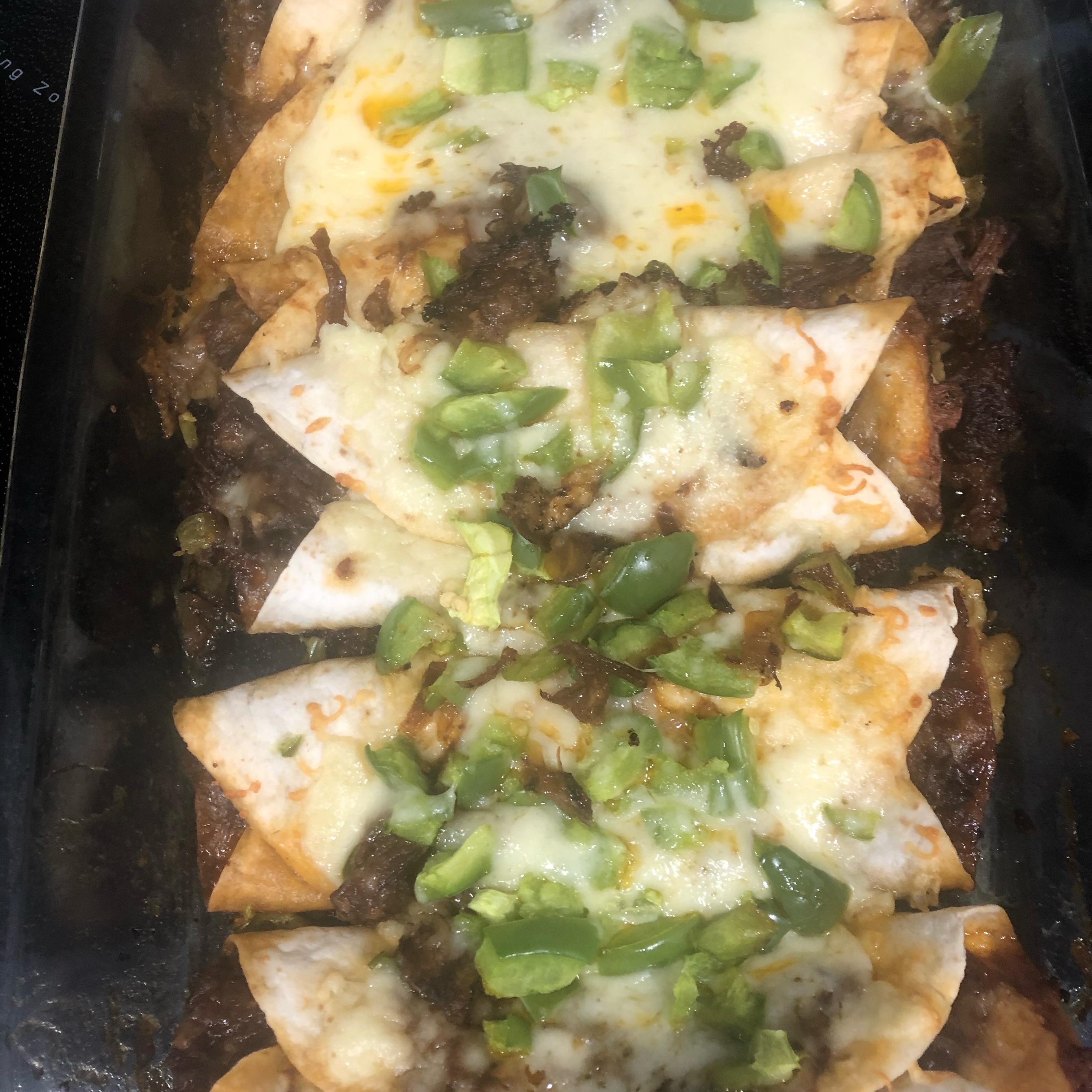 Slow Cooker Beef Enchiladas mamamichellelee