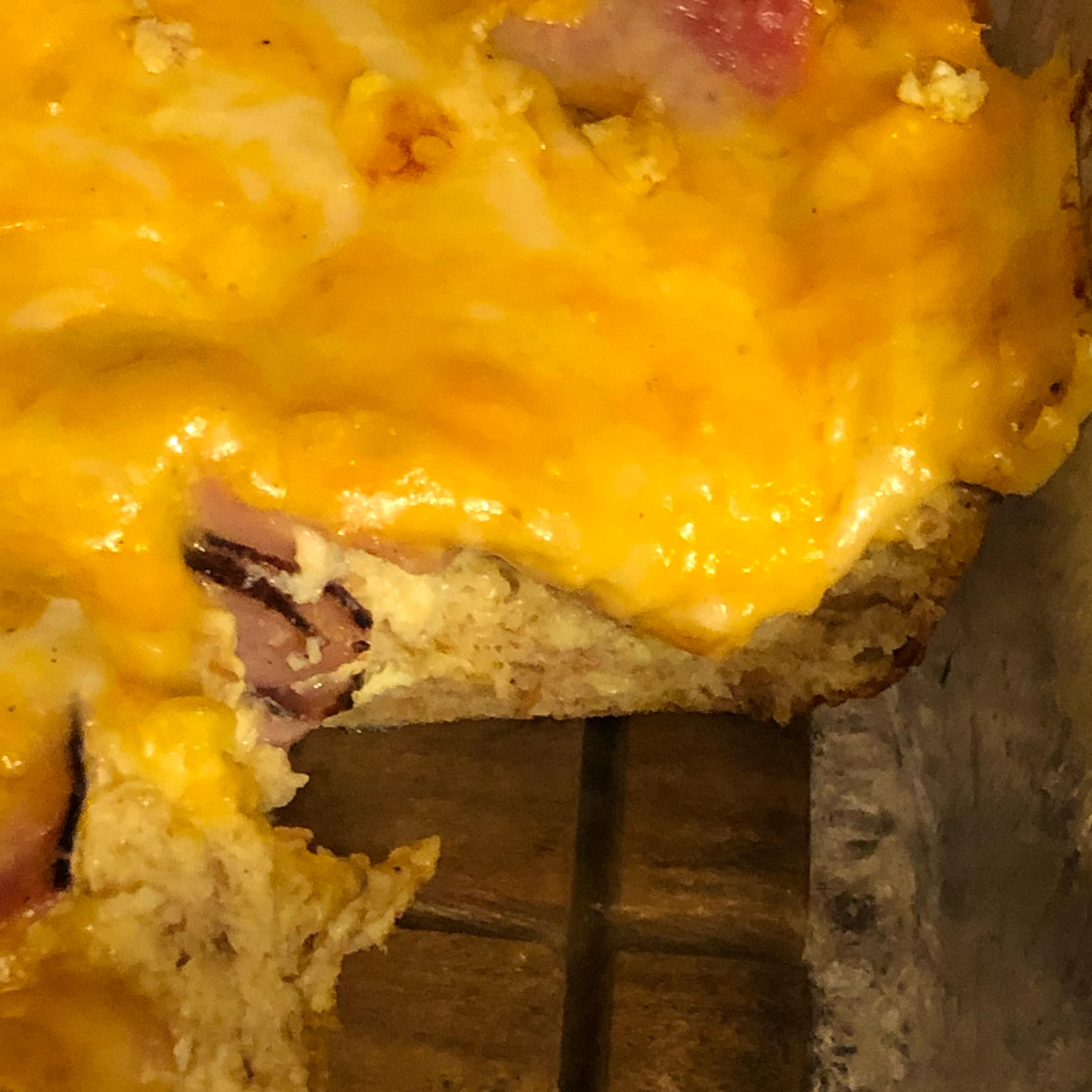 Ham and Cheese Egg Bake Margo Hanson Neverdahl