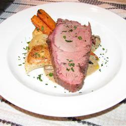 Beef Tenderloin in Creamy Porcini Sauce Dano
