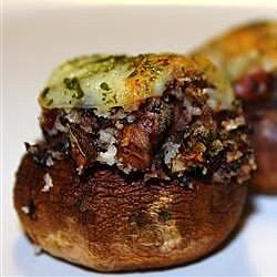 andies stuffed mushrooms recipe