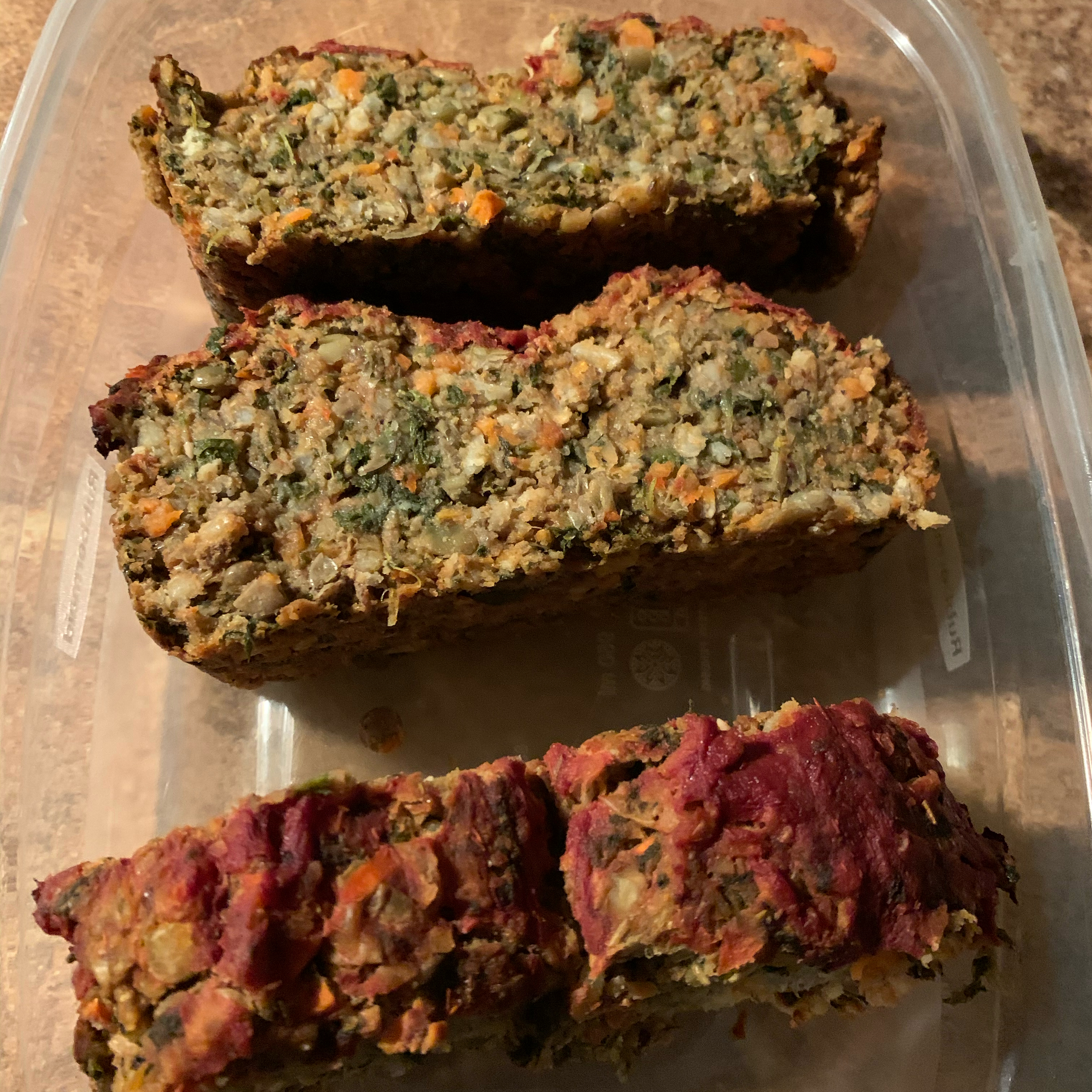 Alissa's Vegetarian Lentil Meatloaf Alissa Brunsfeld