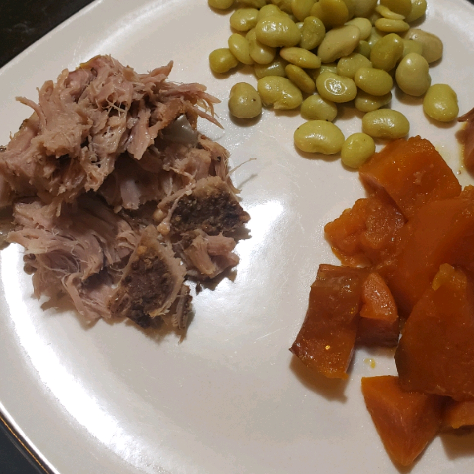 Slow Cooker Pork Loin Roast with Brown Sugar and Sweet Potatoes Nancy Willis