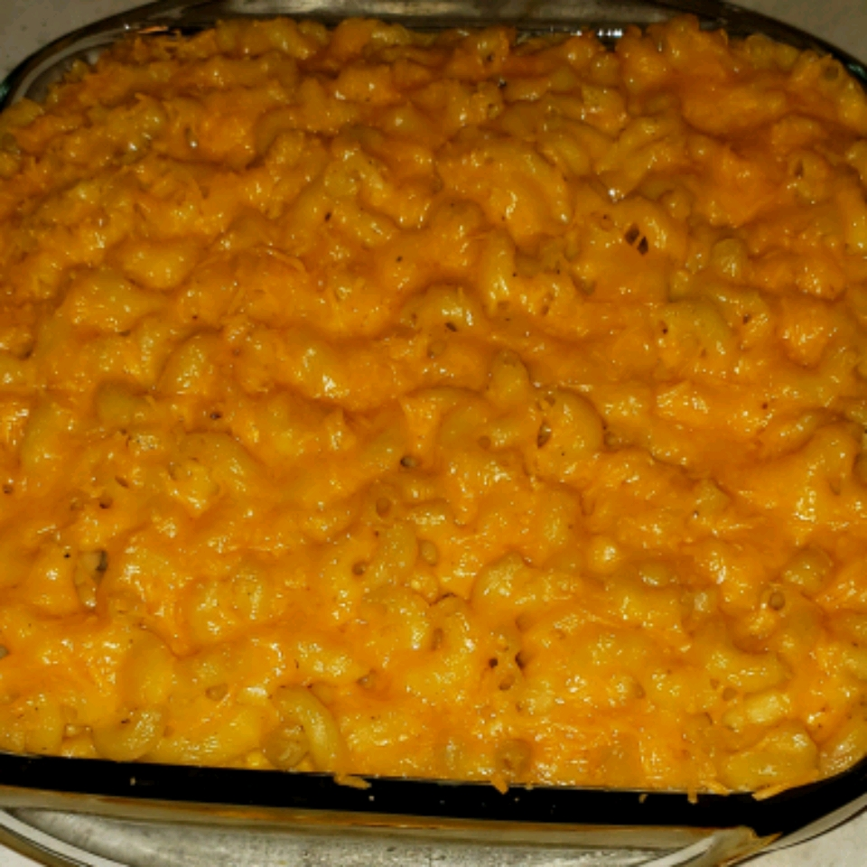 Southern Macaroni and Cheese Pie Beverly Anderson