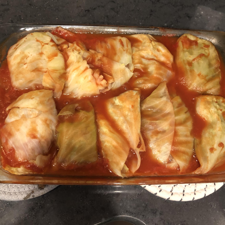 Halupki (Stuffed Cabbage) neferious