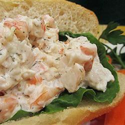 Dilled Shrimp Salad Linda