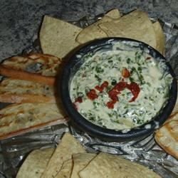 Artichoke & Spinach Dip Restaurant Style janasue1459