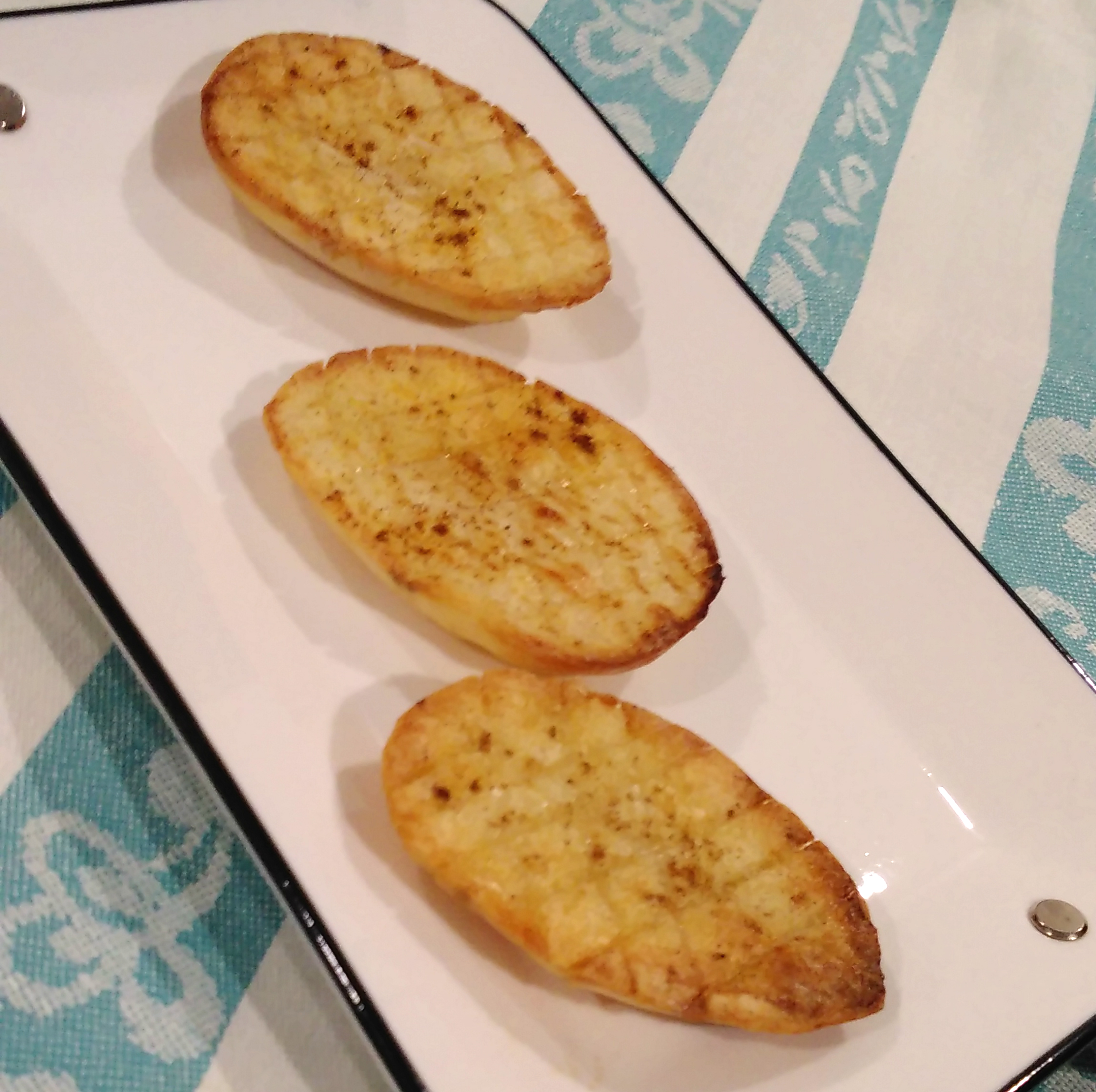 Diamond-Cut Roast Potatoes Bren