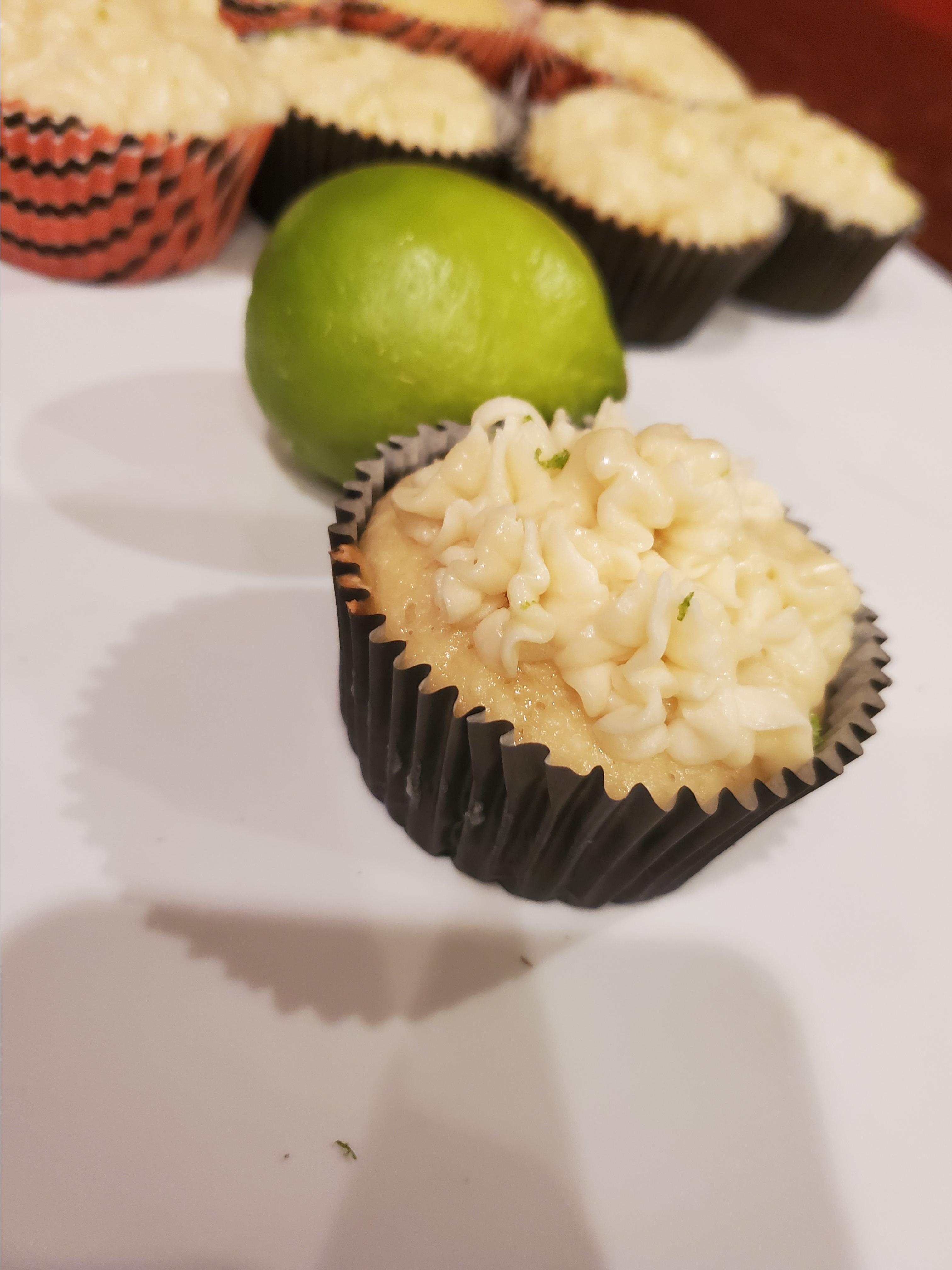 Coconut-Lime Cupcakes Amanda
