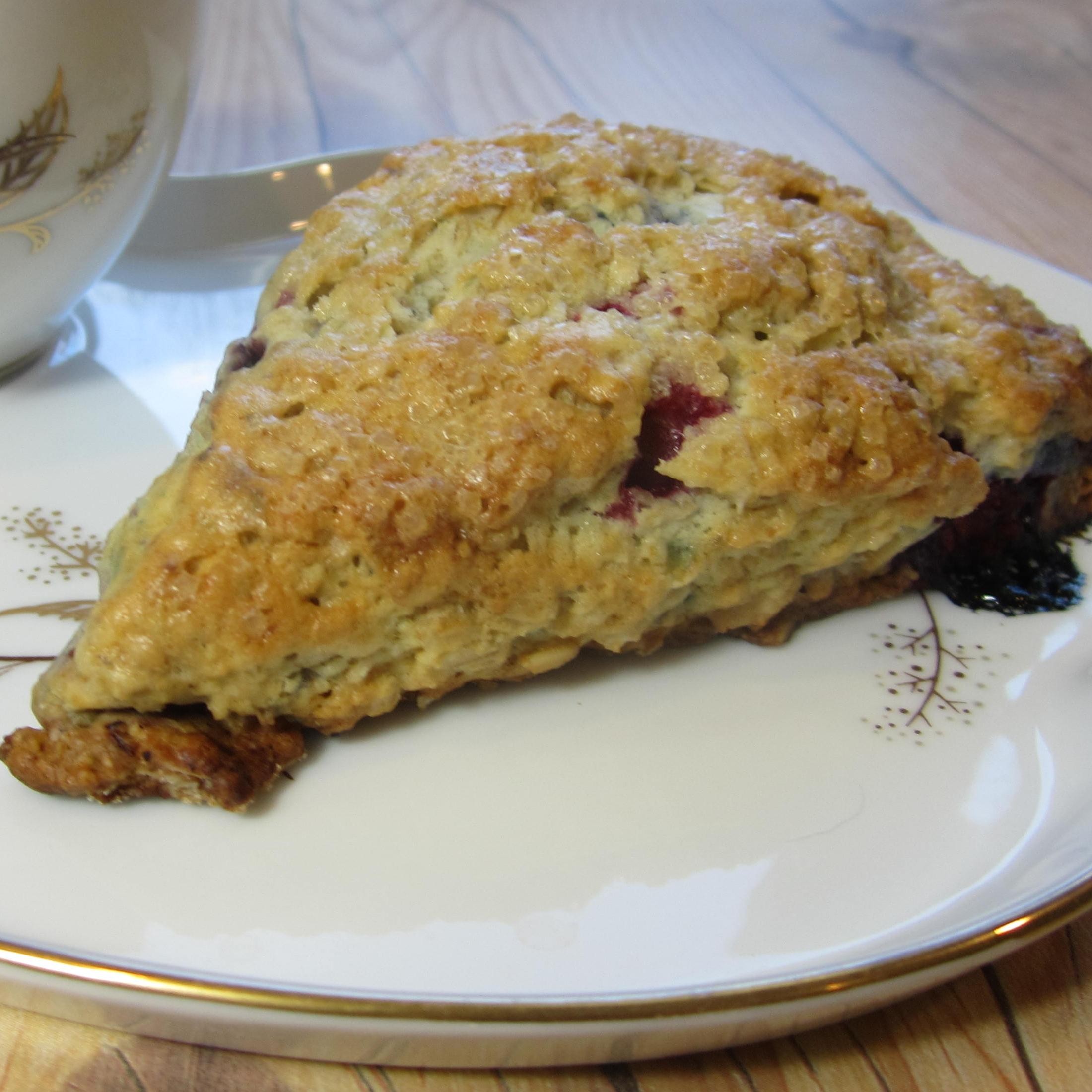 Berry Oatmeal Scones