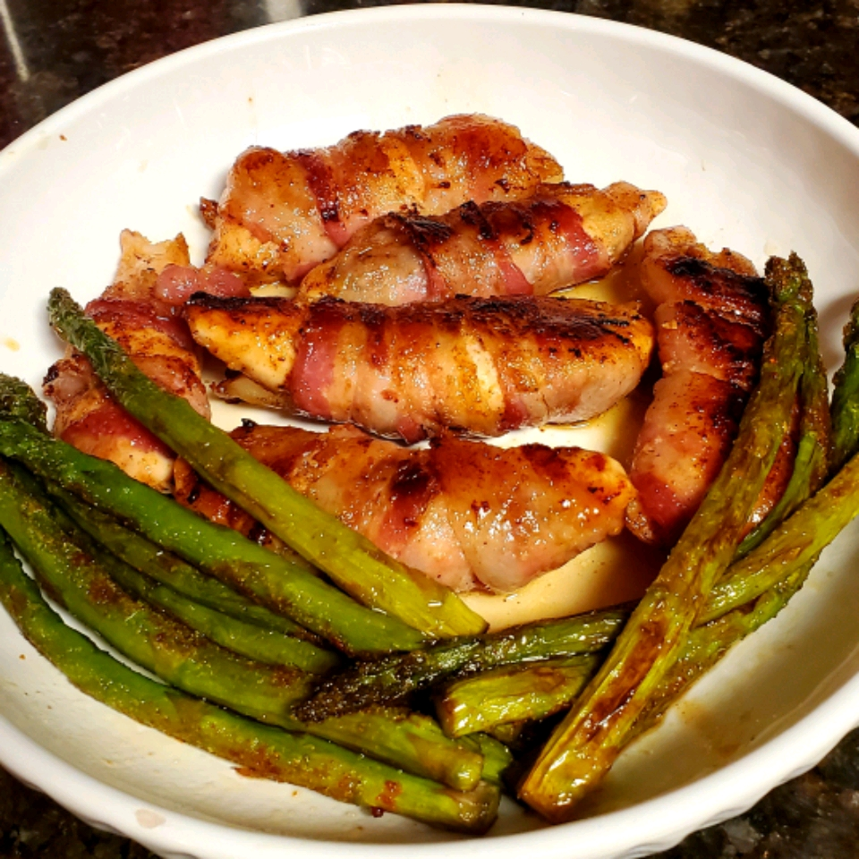 Grilled Bacon-Wrapped Chicken Tenders Deborah Stovall