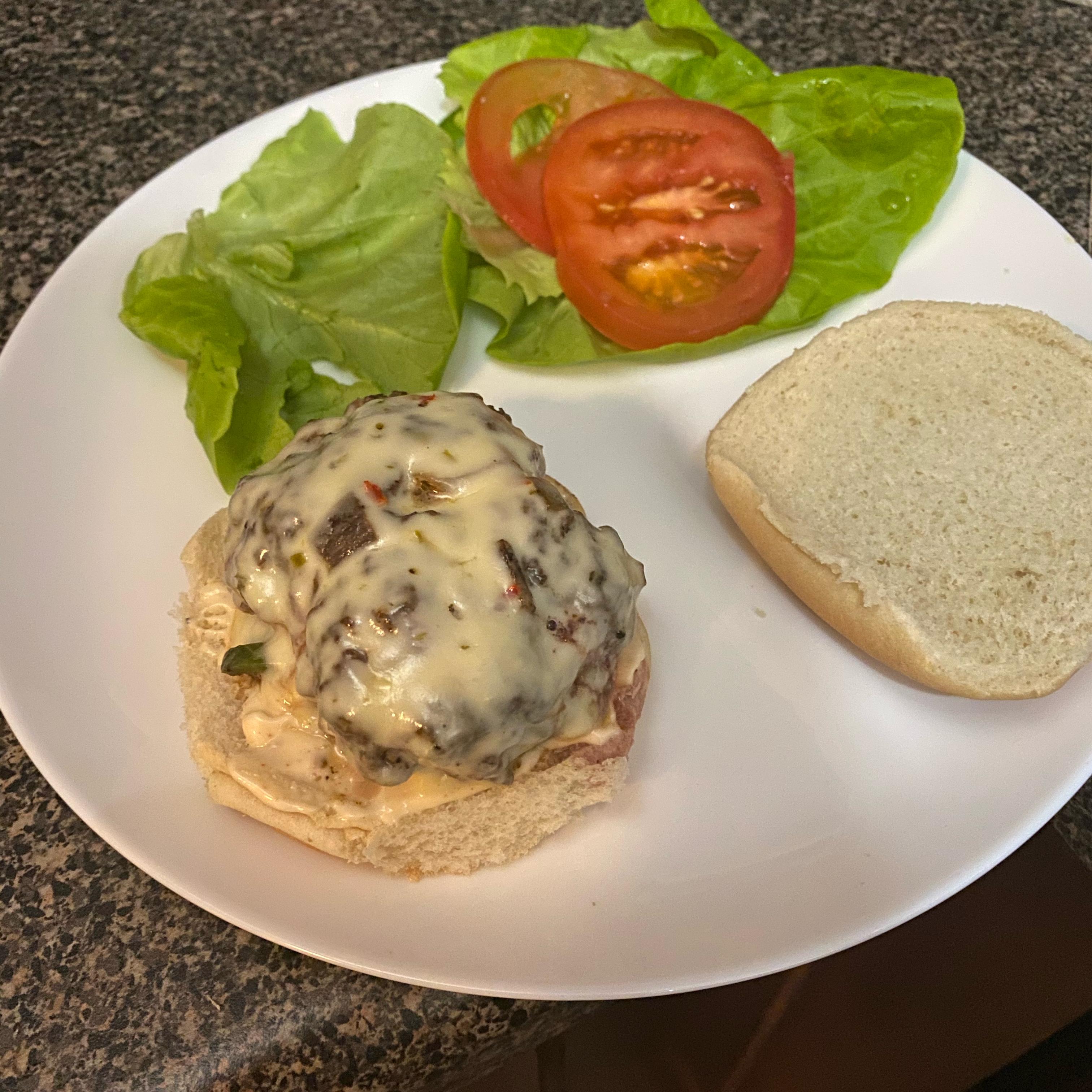 Tex-Mex Burger with Cajun Mayo